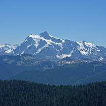 Mt. Shuksan, with almost no snow in July due to drought