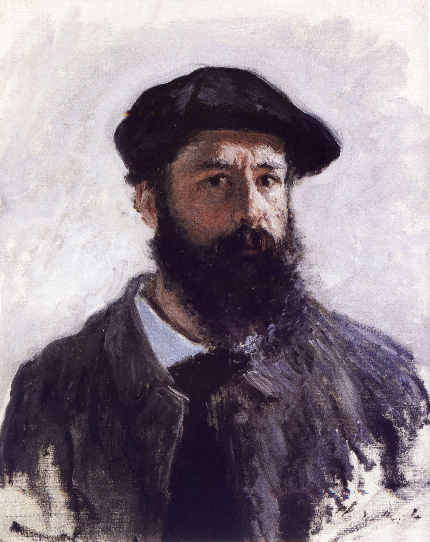 Autoportret_Claude_Monet