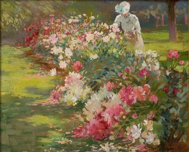 Matilda_Browne_Peonies_1907